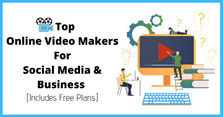 Top Online Video Makers Free